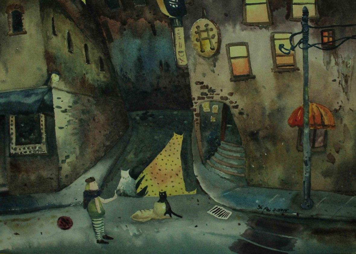 LOH-Yi-Pei,-Say-Cheese,-watercolour-on-paper,-2016-(dpi300)