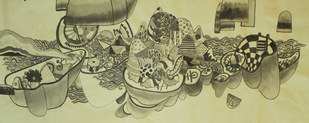 loh-yi-pei-reflections-ink-on-paper-40x85cm-2015-1mb