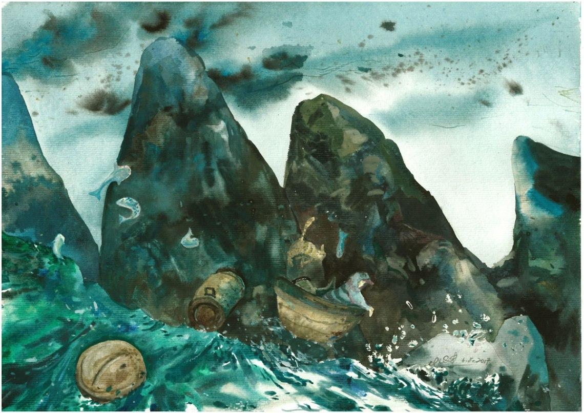 LOH-Yi-Pei,-Hold-Tight,-watercolour-on-paper,-29