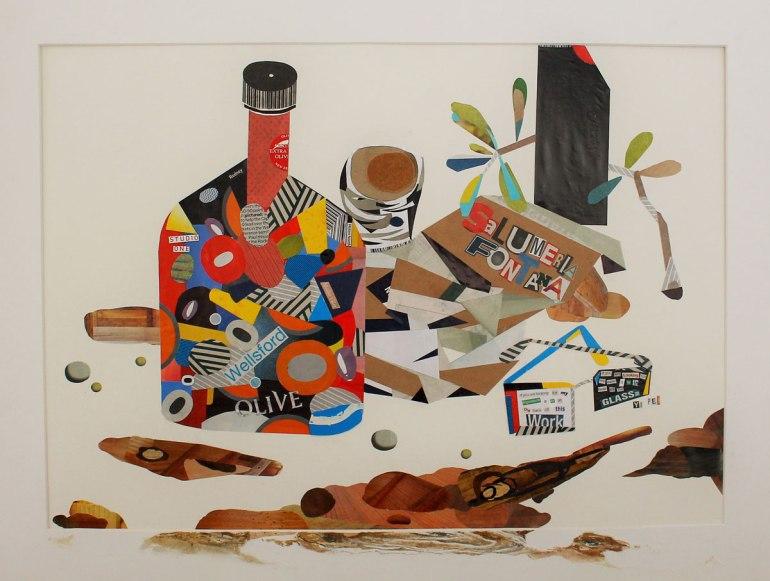 LOH-Yi-Pei,-My-Stay-at-Salumeria-Fontana,-collage-on-paper,-2015