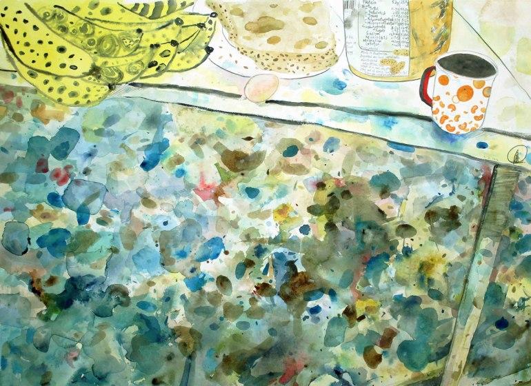LOH-Yi-Pei,-Still-Life--Monday-Morning,-watercolour-on-paper,-53x73cm,-2016-(dpi-72)